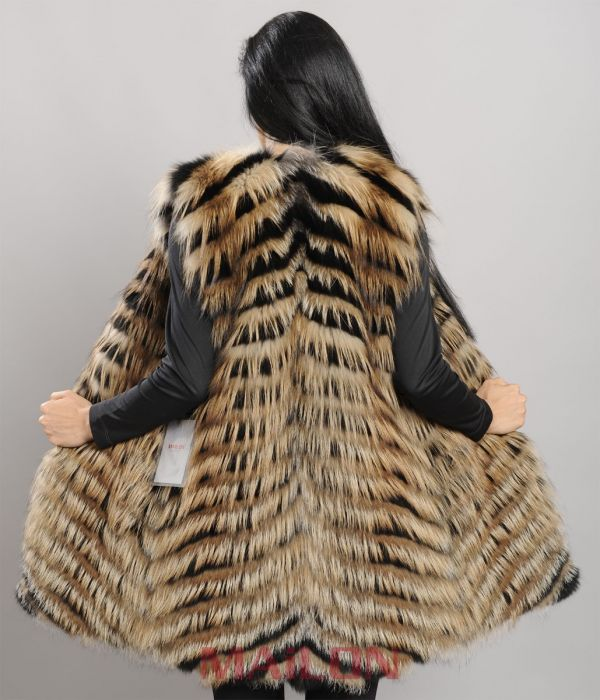 Two colors - Black and Cross Fox Vest