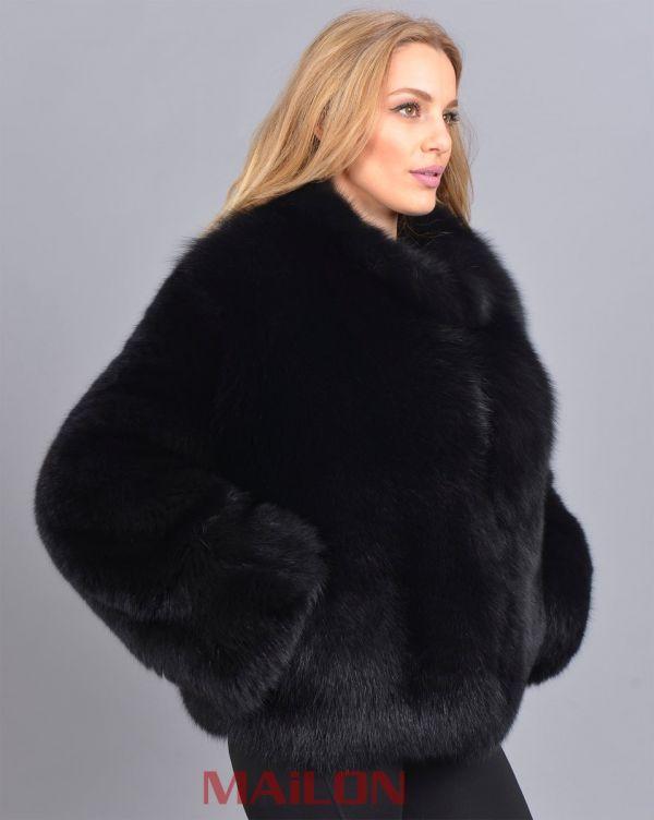 Black SAGA Fox jacket