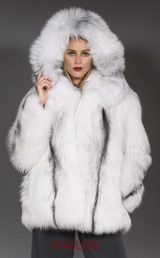 Arctic Marble SAGA For Fur Parka Coat Jacket