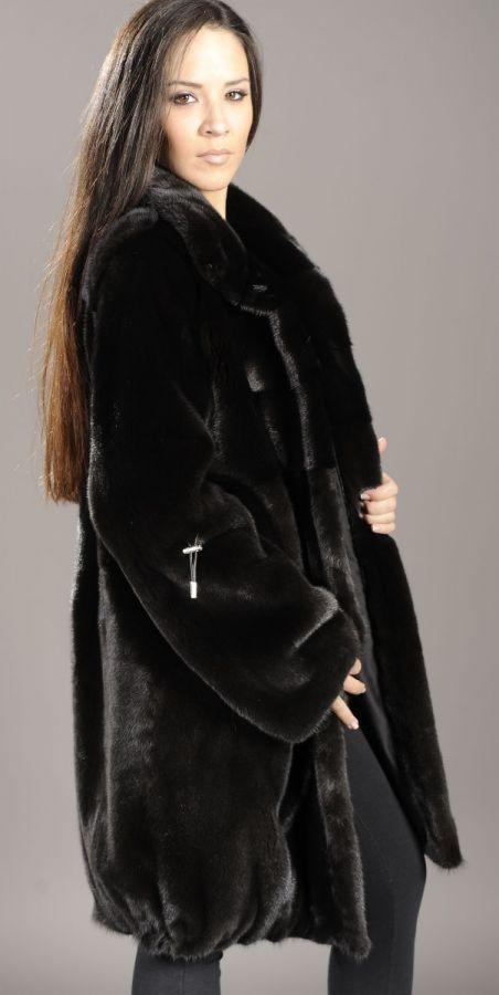 Baloo Blackglama mink fur jacket coat