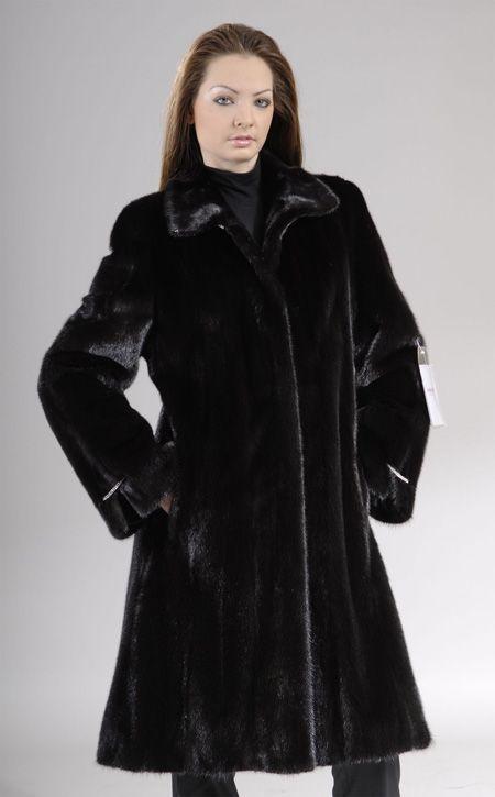 Letout Blackglama Mink knee length coat