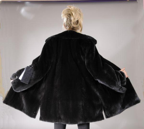 Blackglama Mink Fur jacket coat - Size XL