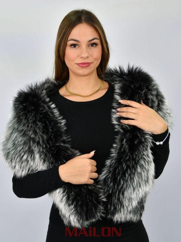 Exclusive Silver Metallic SAGA Finnaraccoon collar