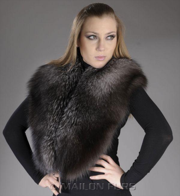 Blue Frost SAGA Fox collar