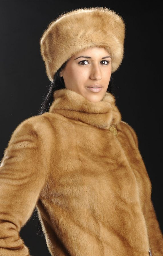 Mink Fur Hat - All Sizes and colors available