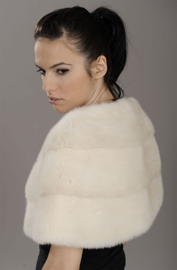 Golden Pearl Mink Fur stole