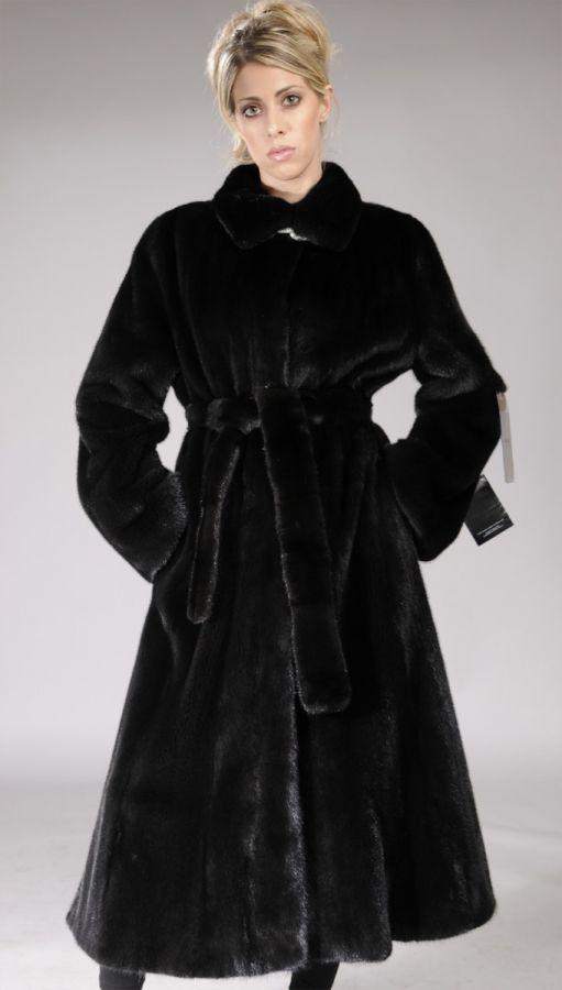Blackglama Letout Full Length Mink Coat