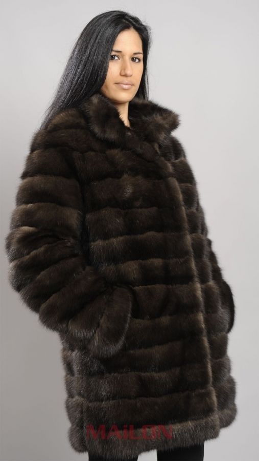 Genuine Canadian Sable Fur Jacket - ALL SIZES!