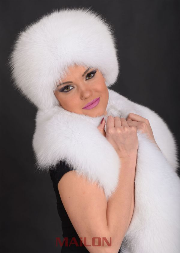 SAGA Fox Fur Hat - All colors and sizes available