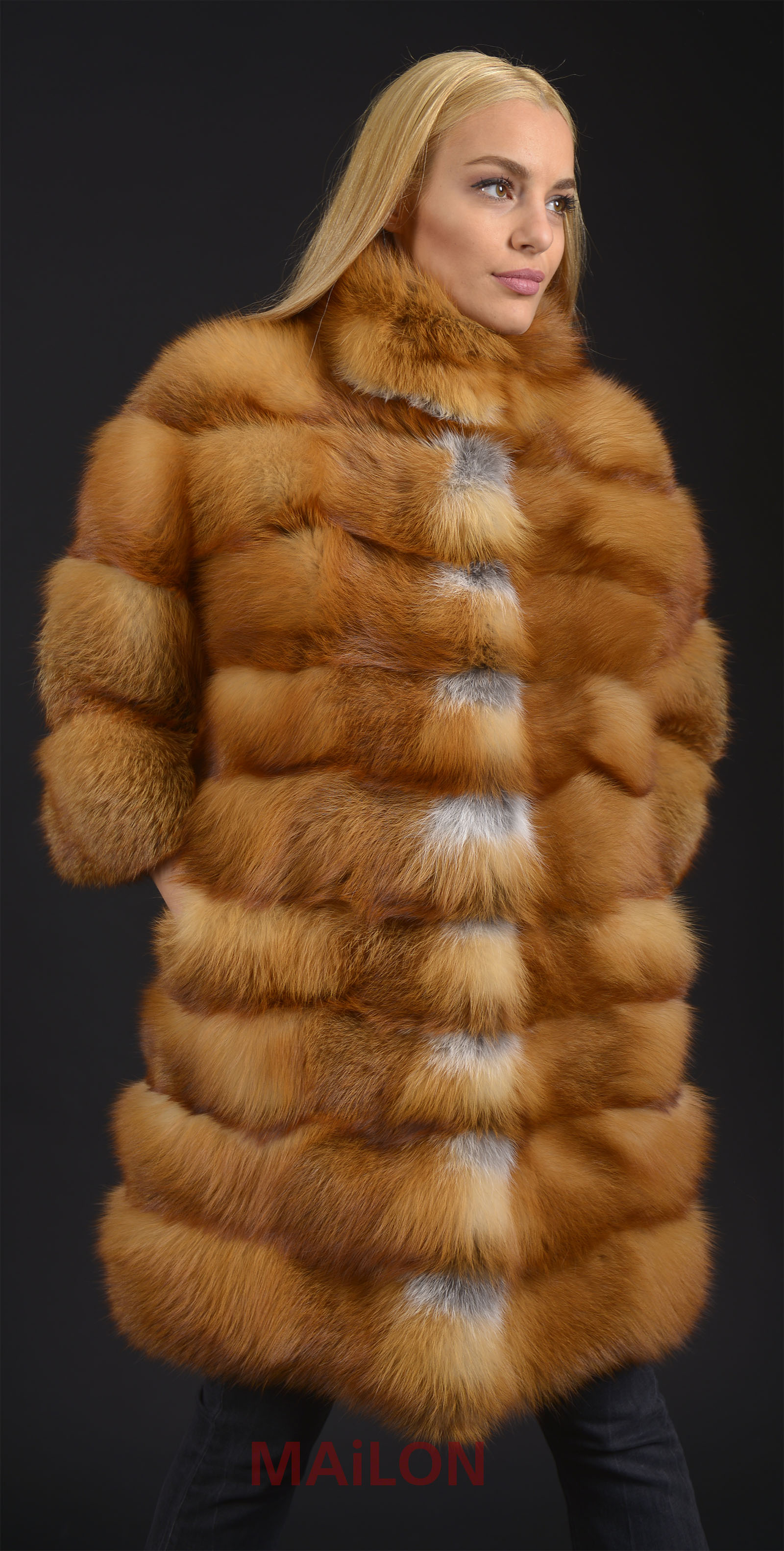 MAILON FURS RED FOX TOP LOT